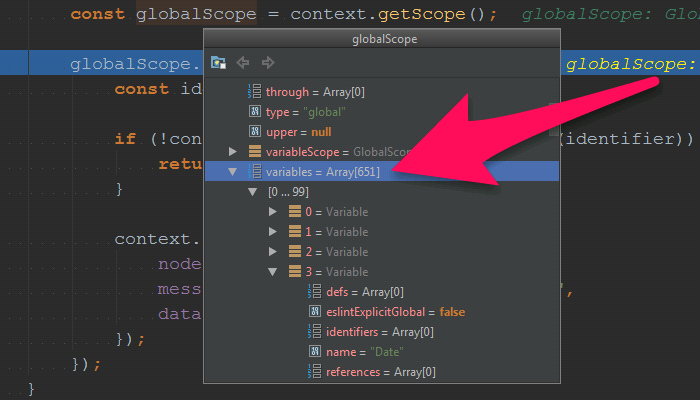 globalScope.variables